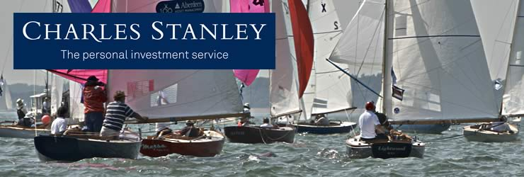 A hearty welcome from Cowes Classics Week to Charles Stanley
